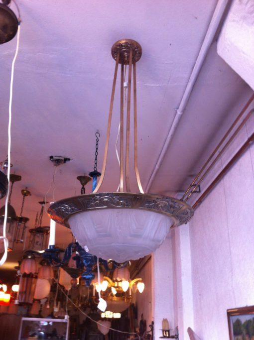 jugendstill ceiling lamp
