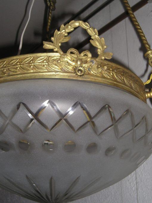 jugendstil hanglamp /plafoniare