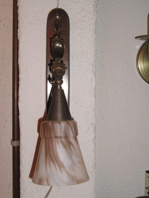 jugendstil wandlamp Nature
