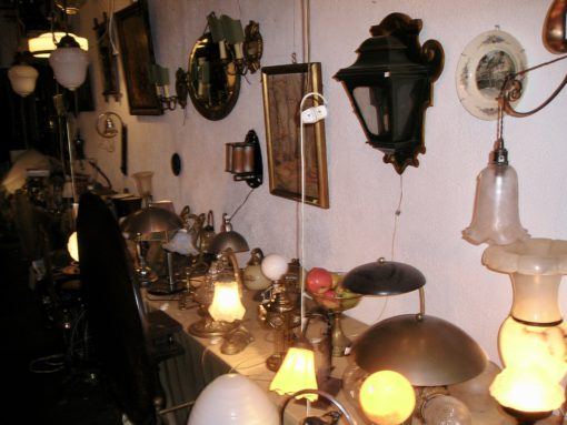 Wandlampen en salontafel lampen