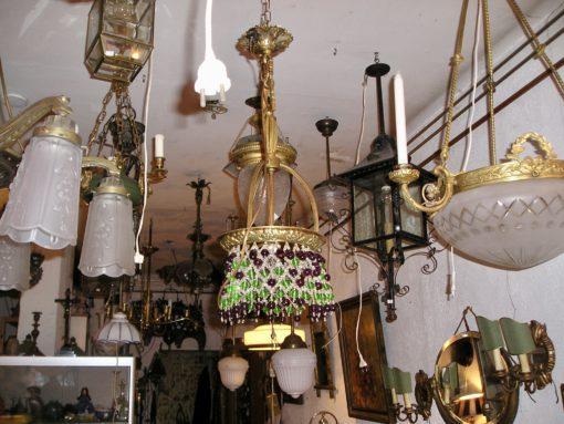 Jugendstil en Art-Deco hanglampen