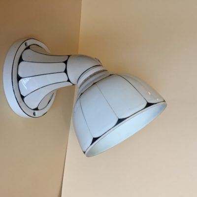 wand lamp art-deco keramiek