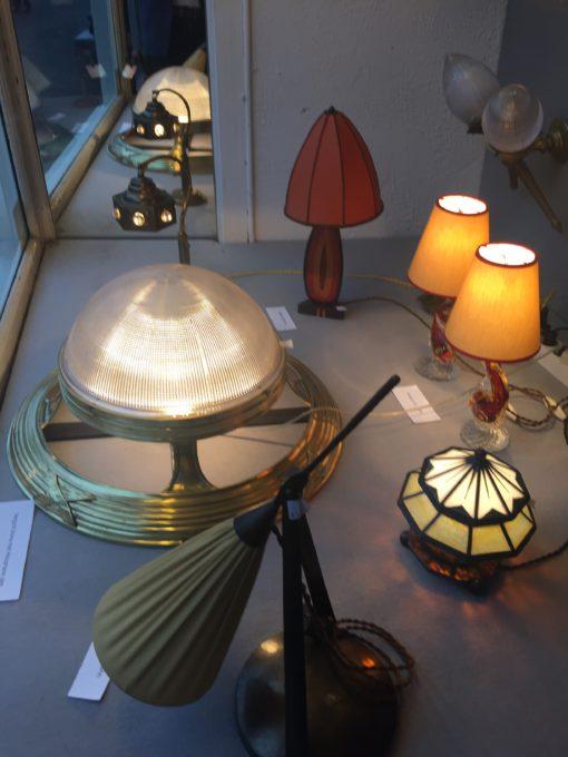 Jugendstil salontafel lamp