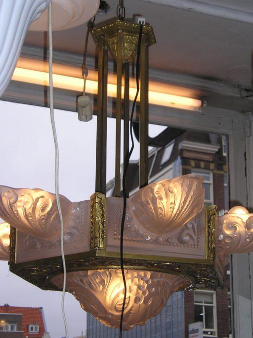 Jugendstil hanglamp