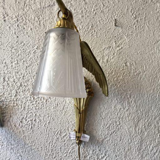Jugendstil kraanvogel